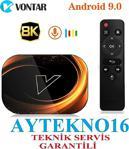 Vontar X3 4Gb 64Gb Android 9.0 Tv Box Amlogic S905X3 Dört Çekirdekli 2.4G 5G Çift Wifi Bt4.1 8K