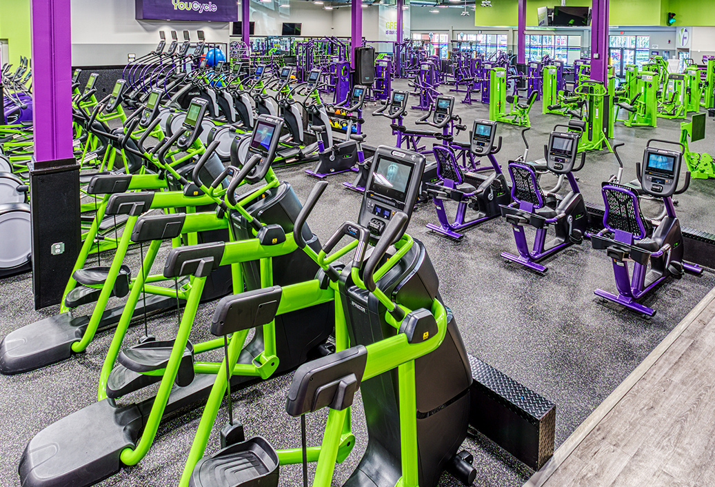 Youfit gym interior