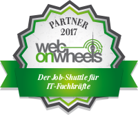 Web-on-Wheels Partner Siegel 2017
