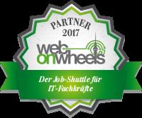 Web-on-Wheels Partner Siegel 2017