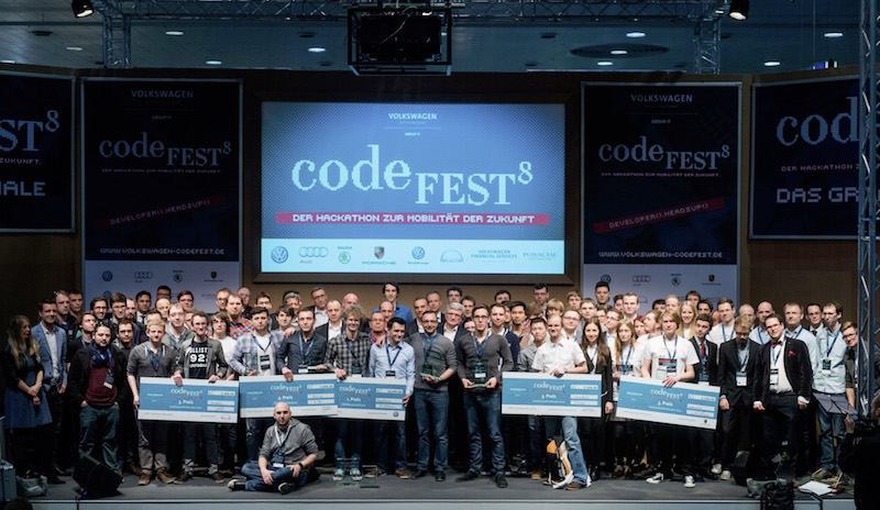 Largest hackathon ever held in automotive industry