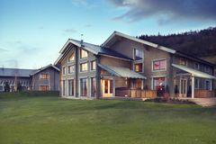 Celtic Manor Hunter Lodges