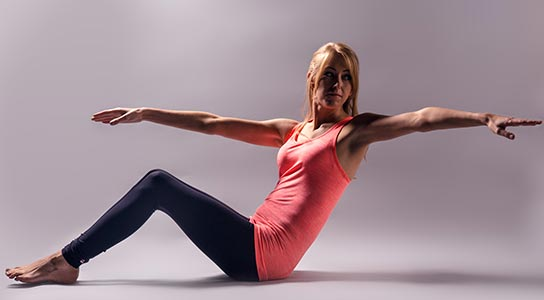 image of a pilates pose