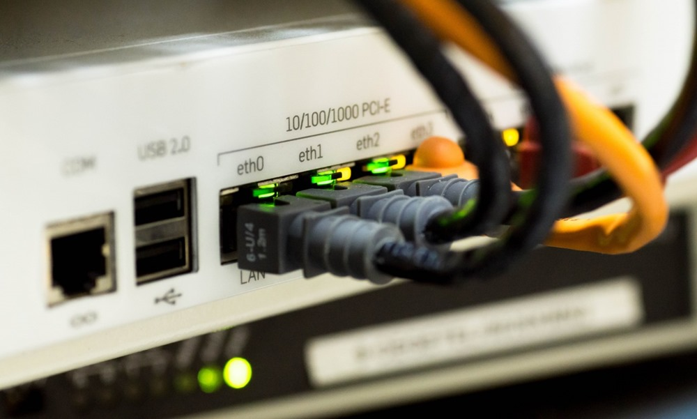 Conexiones de fibra a router