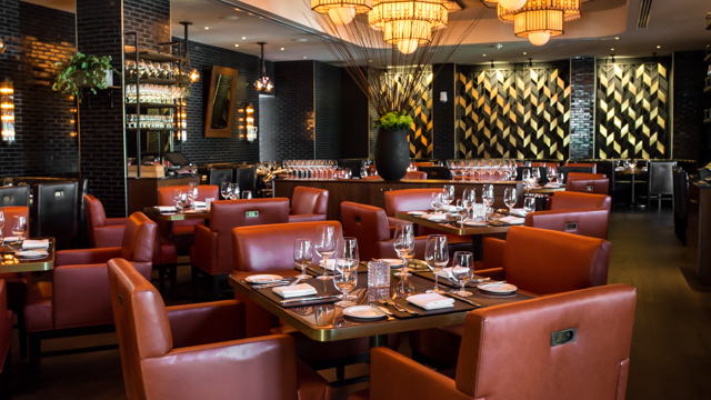 Buckhead Atlanta S Newest Steakhouse And Rooftop Bar Duo Fit Well Into That Ping Development Upscale Atmosphere The First Second Floors Of