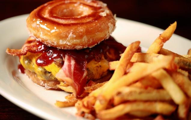 5 Over The Top Donut Burgers In Atlanta Zagat