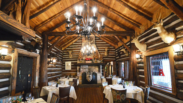 Rainbow Lodge Eating At This Heights Area Destination Is Akin To Visiting Your Rich Uncle With The Hunting Lease Find Rustic Charm Think Rough Hewn Logs