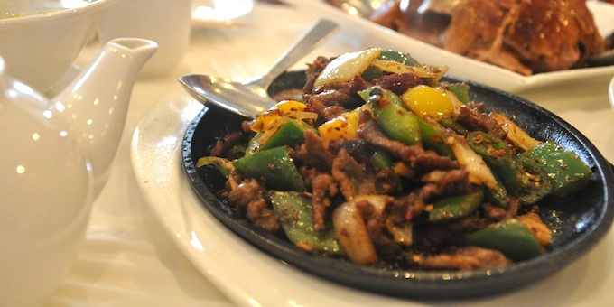 The In Lamb Is Another Bold Dish Rife With Flavor Smoky Earthy Works Well Stir Fried Peppers And Intense Of Meat