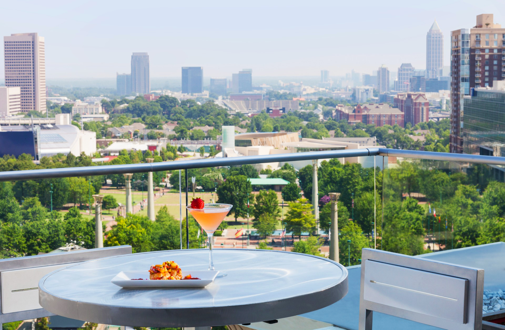 14 Must Visit Rooftop Bars Restaurants In Atlanta Zagat