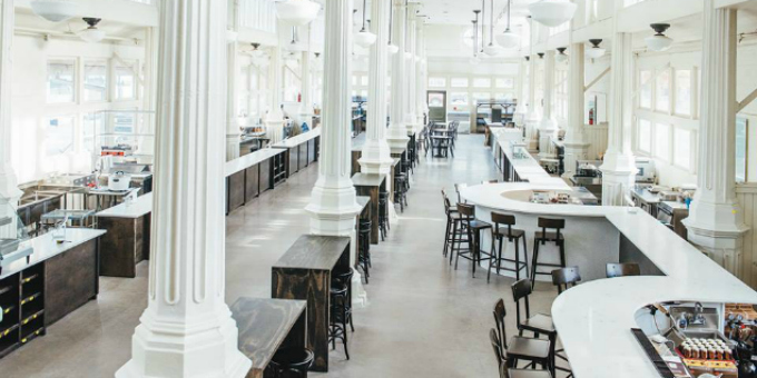 11 Must-Visit Food Halls Across the U S  - Zagat