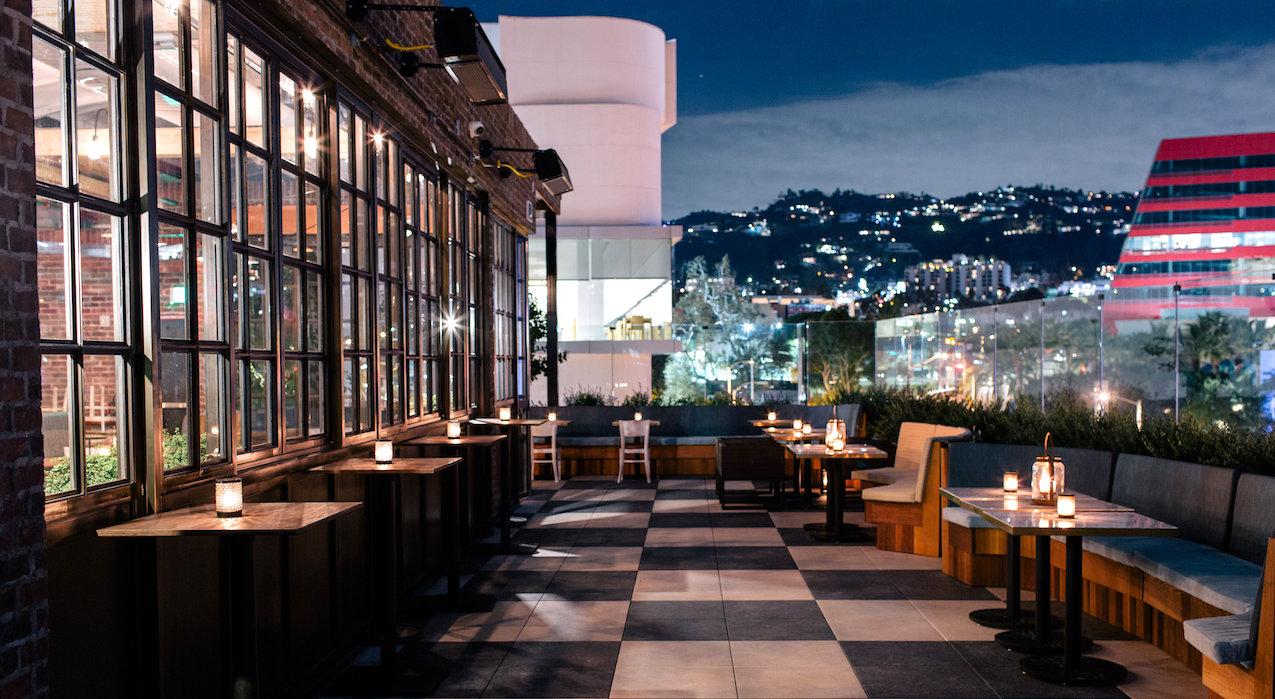 La S Hottest Hotel Rooftop Restaurants And Bars Zagat