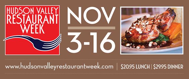 Hudson Valley Restaurant Week Zagat