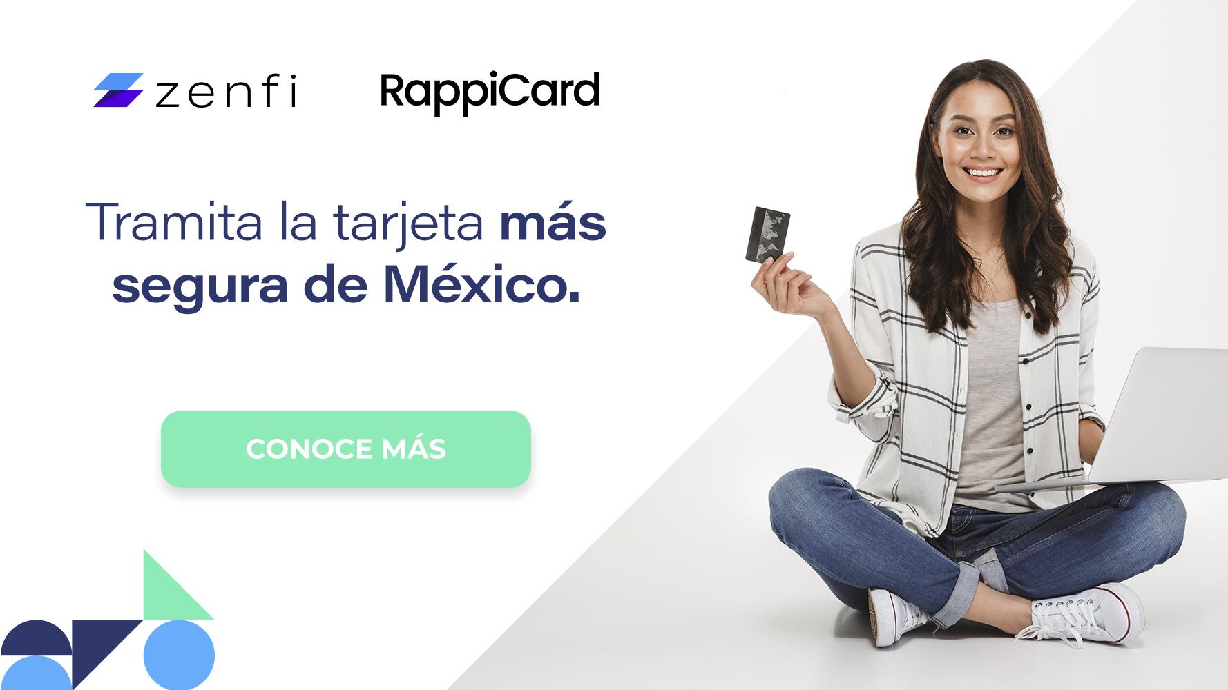 Tramita la tarjeta más segura de México.