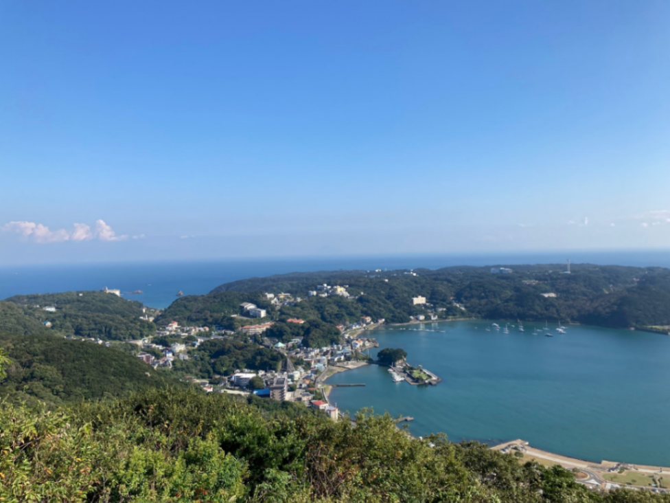shimoda view from mountain