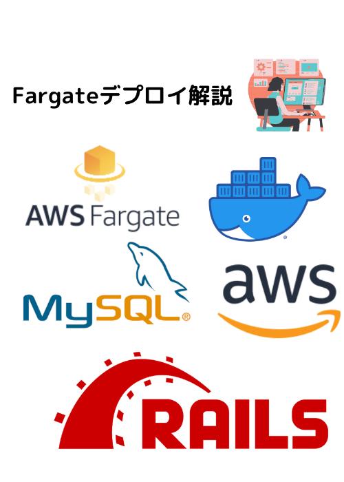 【Rails+Fargate】開発環境のDocker化+Fargateデプロイチュートリアル
