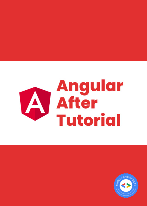 Angular After Tutorial