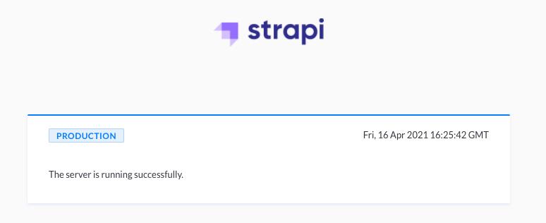 Cloud RunにデプロイしたStrapi