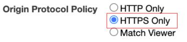 Origin Protocol Policy