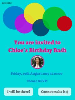 Chloe's Birthday Bash