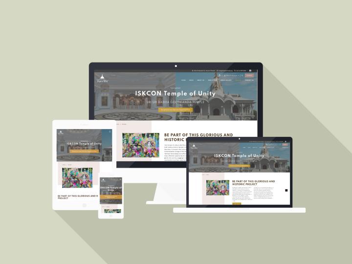 ISKCON Temple of Unity website