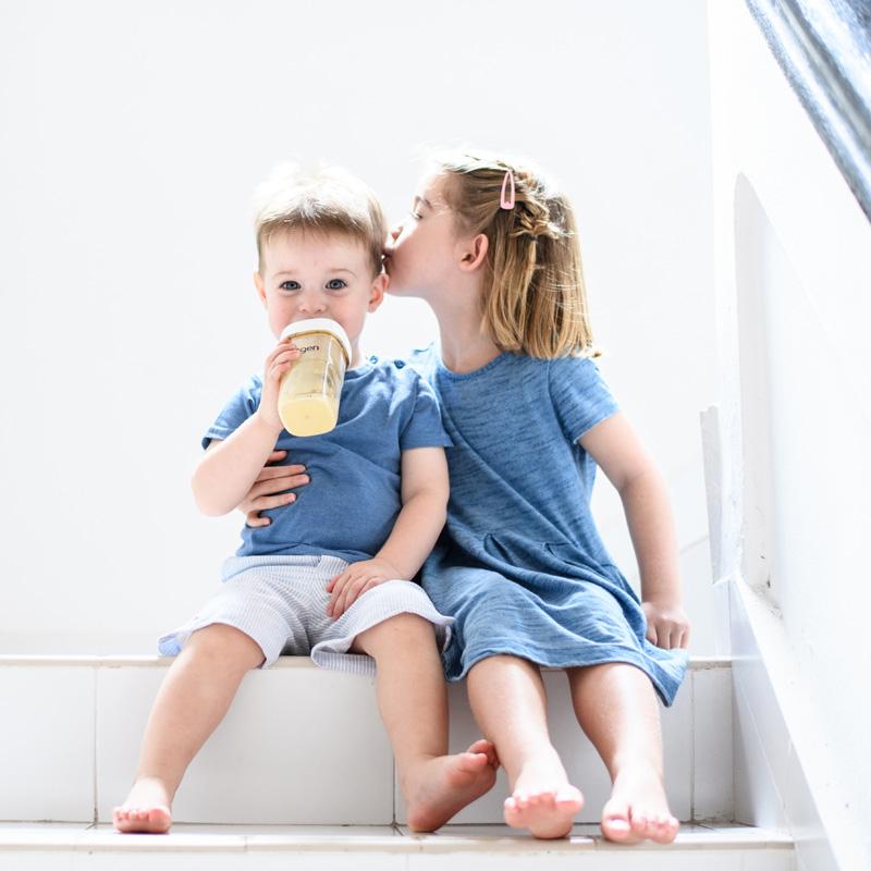防脹氣真實擬乳智慧奶嘴|中速 (兩入組)