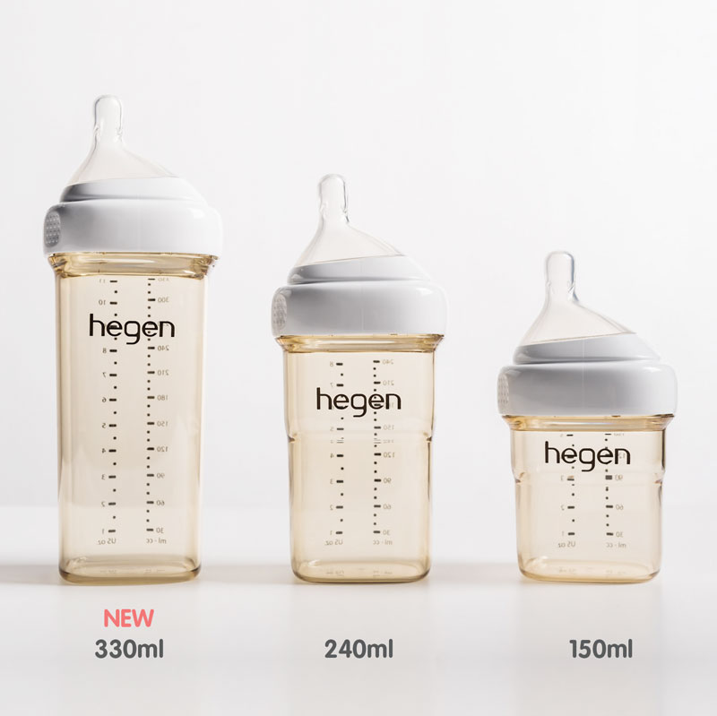 金色奇蹟PPSU多功能方圓型寬口奶瓶 330ml (雙瓶組)