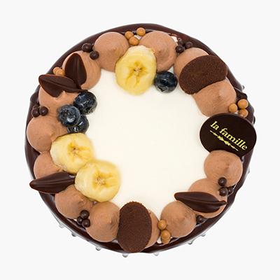 Banana & Chocolate Chiffon Cake完熟香蕉朱古力