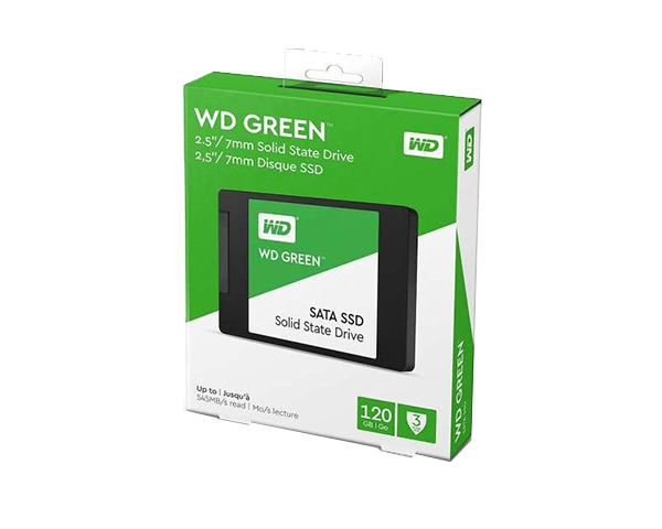 WD 120G 綠標