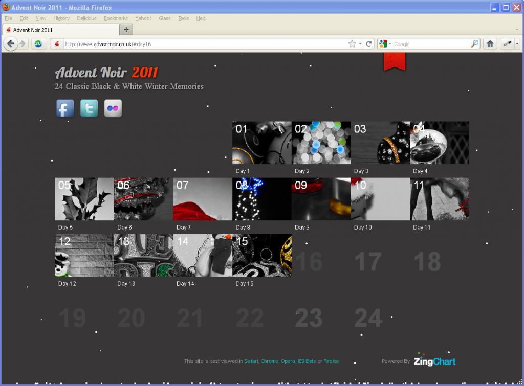 Advent Noir - 24 Classic Black & White Memories