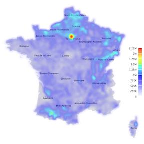 Map Heatmap