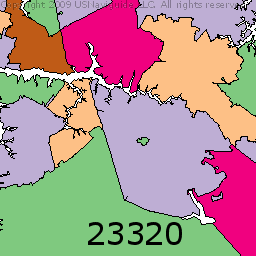 Zip Code Map Norfolk Va | Zip Code MAP