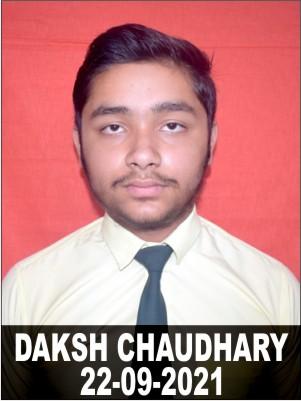 DAKSH CHAUDHARY
