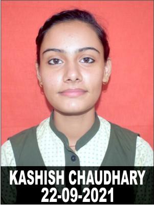 KASHISH CHAUDHARY