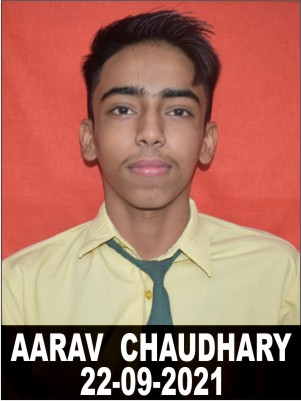 AARAV  CHAUDHARY