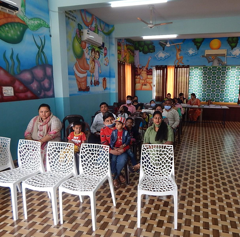 Parents meeting in School