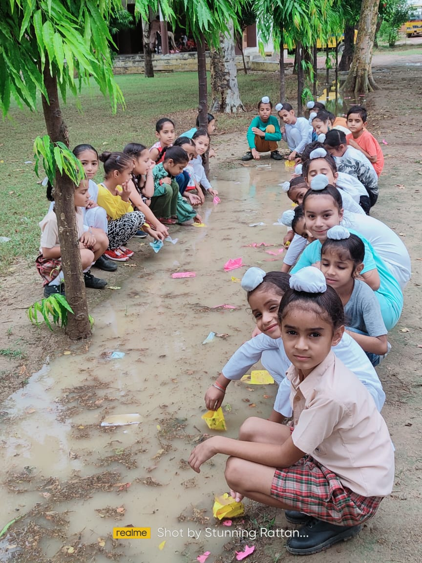 Making paper boat activity-2021