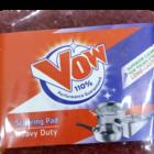 Vow 110 % Scouring Pad Heavy Duty 7cm X 7 cm 1 Pc