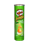 Pringles Sour Cream & Onion Potato Crisps 110 g