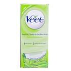 Veet Full Body Waxing Kit Aloe Vera And Lotus Flower Fragrance For Dry Skin 8 strips