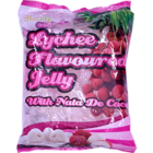 4Fruitz Lychee Flavoured Jelly Pouch 300 g
