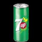 7 Up Lemon Flavour Can 250 ml