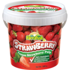 AamRus Frozen Strawberry Pulp 500 g