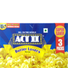 Act II Popcorn Butter Lovers 3 Pack 298 g