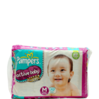 Pampers Active baby Medium 6-11 kg Diapers 62 pcs
