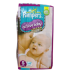 Pampers Active Baby Small 3-8 Kg Pant Diapers 46 pcs