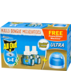 All Out Ultra Combo Pack 2 Refills and 1 Machine 1 Set