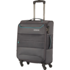American Tourister Atlantis Soft Luggage Trolley 57 cm Charcoal 1 pc