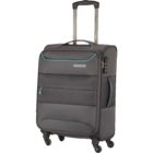 American Tourister Atlantis Soft Luggage Trolley 69 cm Charcoal 1 pc