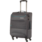 American Tourister Atlantis Soft Luggage  Trolley 80 cm Charcoal 1 pc