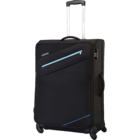 American Tourister Fiji Black 59 Cm Soft Luggage Strolley 1 pc